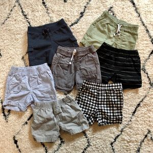 Baby boy shorts bundle 12 months